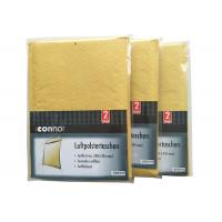 China Shrink Bubble Wrap Shipping Envelopes , Light Brown Kraft Padded Mailers Recyclable wholesale