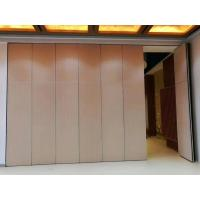 China Operable Office Partition Walls / Aluminium Track Rollers Interior Folding Sliding Doors wholesale