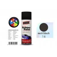 China Matt Black Color Removable Rubber Spray Paint , Anti - Sagging Peelable Car Paint wholesale