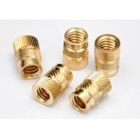 Buy cheap #10-32 UNC Thread Stainless Steel Nuts Brass Threaded Inserts For Plastic from wholesalers