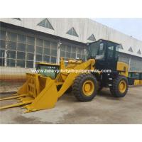 China 3000kg Loading Capacity Wheel Heavy Equipment Loader With 127kn Breakout Force And 3100mm Dump Height wholesale