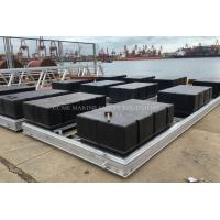 China Marina dock floats floating pontoons with different colors and all accessories wholesale