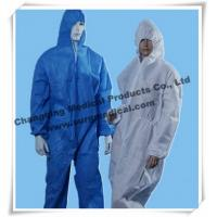 China Anti - Static Disposable Surgical Gowns Industry Chemical Resistant Coveralls wholesale