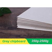 Quality 1mm 1.5mm mixed pulp laminated grey board/grey cardboard/grey chip board manufacturer for sale