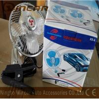 China 12V / 24V Mini Electric Fan , Oscillating Car Fan for 4x4 off road wholesale