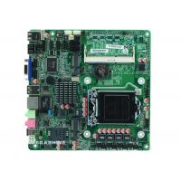 China Support LGA1155 CPU all in one computer Motherboard 2COM , 9USB2.0 DC in power wholesale