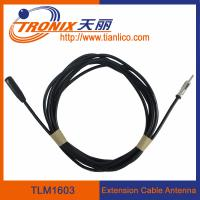 China male to female extension cable car antenna/ car antenna adaptor TLM1603 wholesale