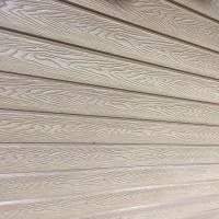 China wpc wall pane with 3D online deep embossed wood grain surface treatment wholesale