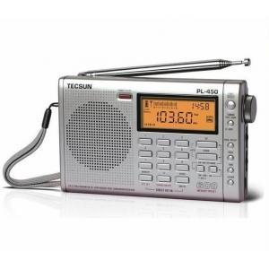China TECSUN PL450 FM stereo SW MW LW PLL Shortwave Digital Full Band Portable Radio Synthesized Receiver wholesale