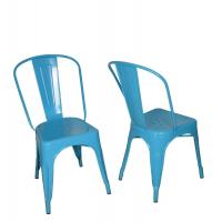 China Replica Xavier Pauchard Metal Tolix Side Chair With Strong Powder Coating wholesale