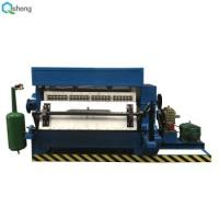 China Pulp Molding Semi Automatic Egg Tray Machine 30 Sets / Month Production Capacity on sale