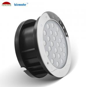 China RGB Underwater Led Spotlights , 24W 24V Led Spot Lighting SS316L Adjust Angle Pool Light wholesale
