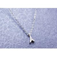 China Elegant Stainless Steel Pendant Necklace Dainty Eiffel Tower For Women wholesale