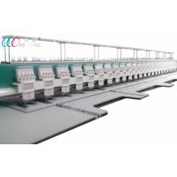 China Clothing 24 Head Computerized Embroidery Machine , Mixed Commercial Embroidery Equipment wholesale