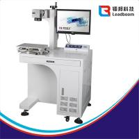 China Stability Fiber Laser Marking Machine Perfect Effect For Crystal / Metal / Plastic wholesale