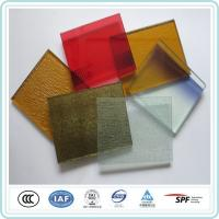 China Safety Decoration Art Laminated Glass 12mm Coloured Sheet For Commercial Building wholesale