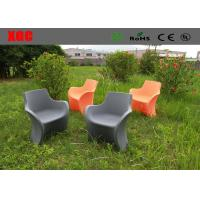 China One Seat Light Weight Plastic Outdoor Furniture Patio Sofa Chair 3 Years Guarantee wholesale
