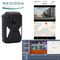 China Night Vision 4G Body Worn Video Camera GPS Tracking With Wide Angle 140 Degree wholesale