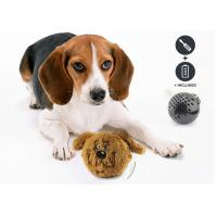 China Interactive Shaking Bouncy Plastic Dog Balls Auto Bounce / Squeak For Entertaining wholesale
