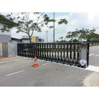 China Security Trackless Automatic Folding Gate Retractable For Enterprise and Public Institution wholesale