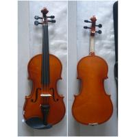 China Spruce Top Handmade Violin Maple Back Left Size 4/4 3/4 1/2 1/4 1/8 wholesale