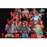 China Interactive 7D Cinema System With Horrible Movies / Electronics Seats wholesale