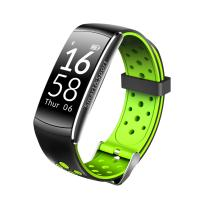 China 0.96 inch 128*64 dots Size HR sensor Silicon labs Si1142 red green black Tricolor smart watch. wholesale