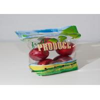 Buy cheap OPP / CPP Fresh Fruit Bags Stand Up Sachet With Holes Custom Printing from wholesalers