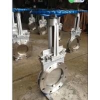 "China SS316 8"" Cast Steel Gate Valve for paper pulp , sewage DN50 ~ DN 2000 wholesale"