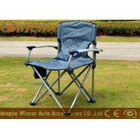 Quality Aluminum folding camping chairs / collapsible chairs for camping for sale