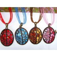 Buy cheap Nice Enamel Necklace from wholesalers