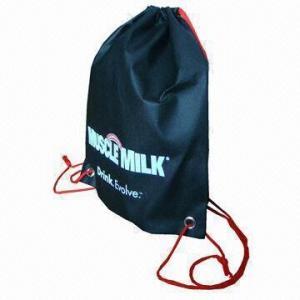 China Drawstring Bag, Made of Polyester wholesale