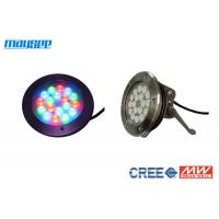 China 54 Watt Submersible Rgb Led Pool Light Color Changing By Dmx Control wholesale