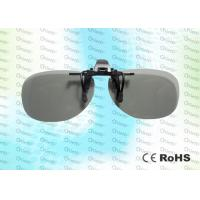 China REALD Anti-scratch, clip on, Circular polarized 3D film glasses wholesale