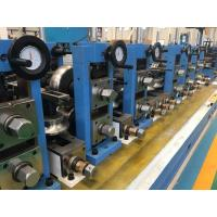 China Industrial Cooling Steel Tube Processing Machine / Automatic Welded Pipe Mill on sale