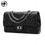 China 2019 fashion style shoulder bag wholesale price stock handbag handmade designer crossbody bag wholesale
