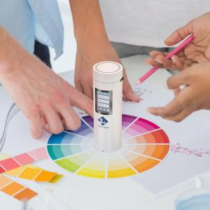China 3NH CR2 8mm Aperture Portable Color Meter Pantone Colour 3nh Spectrophotometer wholesale