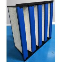 China Compact H14 HEPA Filter With ABS Frame / HEPA Air Filtration System wholesale