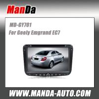 China 2 Din Car Dvd Gps Navigation Geely Emgrand EC7 2012 Double Din Head Unit Car Pc Sat Nav Radio Bluetooth USB CD DVD wholesale