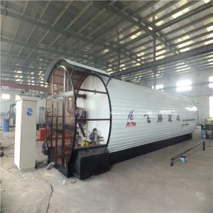 China Horizontal Asphalt Tank Bitumen Tank Supporting Equipment For Asphalt Mixing Plant wholesale