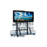 China Movable Digital Signage Screens , 65 Inch Free Standing Lcd Display 4k 500cd/m² on sale