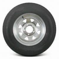 China Wire and Tire Assembly with ST175/80R13 Size and Ø13 x 4-1/2 Inches Rim wholesale