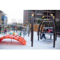 China Large Kids Cool Outdoor Play Equipment Climber Arch LLDPE Plastic Bridge wholesale