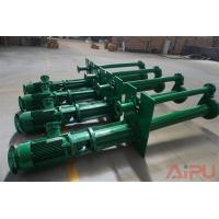 China Mud recycling submersible slurry pump for sale at Aipu solids control wholesale