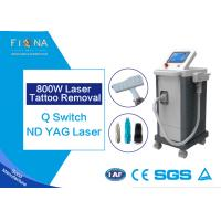 Buy cheap 600W Ice Cooling Laser tattoo Removal Machine , Laser Tattoo Removal White Color from wholesalers