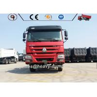 China 6-10 Wheel Heavy Duty Mining Trucks 16-20 Cubic Meter Capacity Automatic Transmission on sale