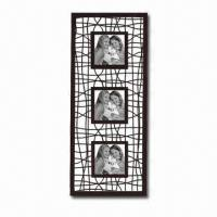 China Metal Photo Frame with Powder Spray Finish, Comes in Various Colors and Sizes wholesale