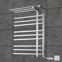 China 9 Bars Practical shelf stainless steel wall mounted Electric heated towel warmer wholesale