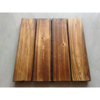 China Cedar decking tiles wholesale
