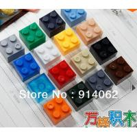 China 2014 Free shipping DIY building blocks 100pcs/lot color assorted on sale